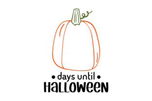 Counting Down to Halloween Halloween Craft Cut File By Creative Fabrica Crafts