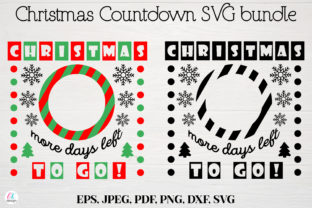 Christmas More Days Left to Go SVG File Graphic Graphic Templates By OK-Design