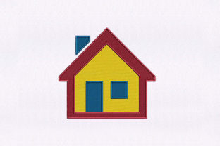 Radiant Home House House & Home Embroidery Design By StitchersCorp
