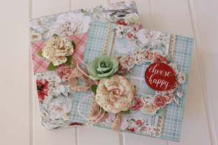 How to Create an Easel Card and a Matching Gift Box Classes By Alicia McNamara