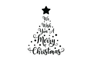 We Wish You a Merry Christmas Christmas Craft Cut File By Creative Fabrica Crafts 2