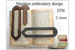 Bookmarks in the Hoop Back to School Embroidery Design By ImilovaCreations