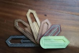 Bookmarks in the Hoop Back to School Embroidery Design By ImilovaCreations 6