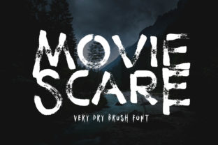 Print on Demand: Movie Scare Display Font By fontherapy