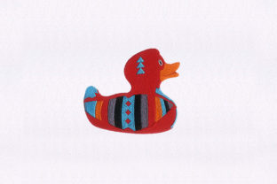 Rubber Duck Bed & Bath Embroidery Design By StitchersCorp