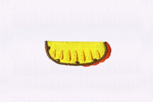 Wedge Slice Pineapple Food & Dining Embroidery Design By StitchersCorp