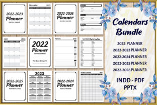Print on Demand: Calendars Bundle 2022 Planners KDP Graphic KDP Interiors By Fayne