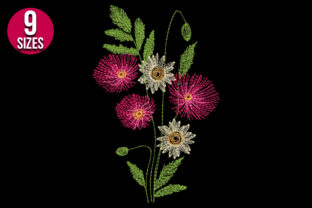 Print on Demand: Flower Bunch Bouquets & Bunches Embroidery Design By Nations Embroidery 2