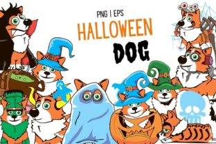 Halloween Dog Clipart Graphic Illustrations By SvgOcean