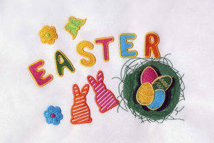 Rabbits Eggs Easter Easter Embroidery Design By StitchersCorp