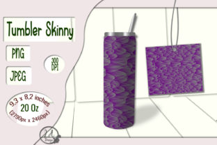Print on Demand: Skinny Tumbler. 20 OZ. Abstract Gradient Graphic Crafts By LilianaArt