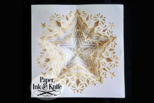 Star 3D Papercut Shadowbox Template Graphic 3D Shadow Box By Paper Ink And Knife