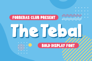 Print on Demand: The Tebal Display Font By Forberas Club