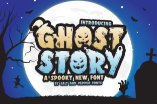 Print on Demand: Ghost Story Duo Display Font By Salt and Pepper Fonts