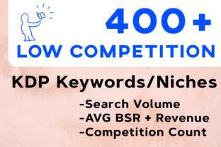 Print on Demand: Low Competition Keywords KDP Niches Graphic KDP Keywords By CreativSupply