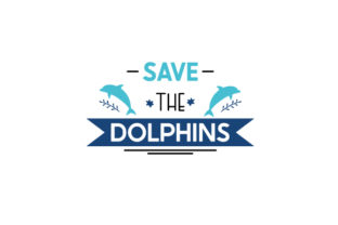 Save the Dolphins Awareness Craft Cut File By Creative Fabrica Crafts