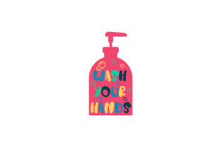 Wash Your Hands Bathroom Craft Cut File By Creative Fabrica Crafts