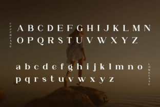 Print on Demand: Angelina Serif Font By eafonts 3