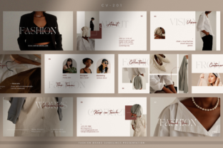 Print on Demand: Brand Guidelines Presentation Canva Graphic Presentation Templates By peterdraw