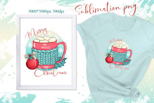 Print on Demand: Christmas Sublimation Design Png Graphic Illustrations By LerVik