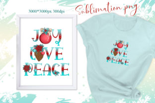 Print on Demand: Christmas Sublimation/Christmas Joy PNG Graphic Illustrations By LerVik