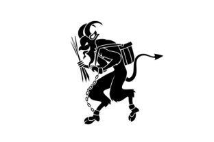 Krampus Designs & Drawings Craft Cut File By Creative Fabrica Crafts