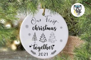 Print on Demand: Our First Christmas Together Svg Graphic Crafts By Gentlebear