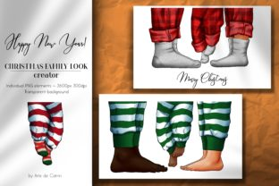 Christmas Family Look Creator, New Year Graphic Illustrations By Arte de Catrin