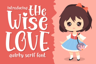 Print on Demand: The Wise Love Serif Font By Creative Fabrica Fonts