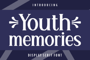 Print on Demand: Youth Memories Serif Font By Creative Fabrica Fonts