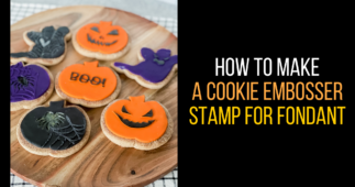 How to Make a Cookie Embosser Stamp for Fondant
