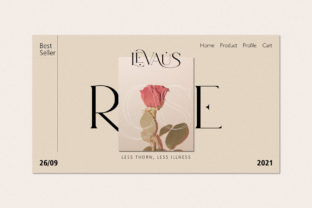 Print on Demand: Levaus Serif Font By Graphicxell 13
