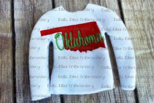 Oklahoma State North America Embroidery Design By Bella Bleu Embroidery
