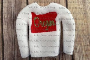 Oregon State North America Embroidery Design By Bella Bleu Embroidery