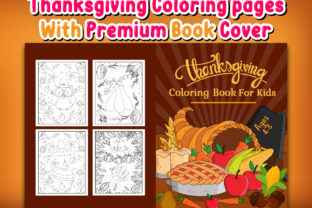 Print on Demand: Thanksgiving Coloring Book and Interiors Graphic Coloring Pages & Books Kids By J U M P