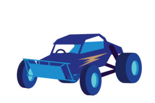 Off-road Racing Buggy Cars Craft Cut File By Creative Fabrica Crafts