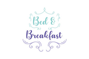 Bed & Breakfast Bedroom Craft Cut File By Creative Fabrica Crafts