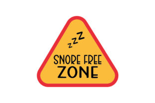 Snore-free Zone Bedroom Craft Cut File By Creative Fabrica Crafts