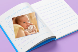 Print on Demand: Baby Memory Book - Editable Graphic KDP Interiors By okdecoconcept 5
