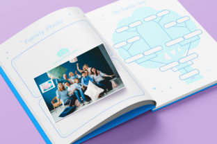 Print on Demand: Baby Memory Book - Editable Graphic KDP Interiors By okdecoconcept 6