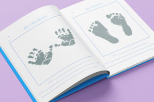Print on Demand: Baby Memory Book - Editable Graphic KDP Interiors By okdecoconcept 7