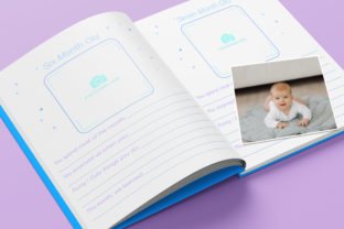 Print on Demand: Baby Memory Book - Editable Graphic KDP Interiors By okdecoconcept 8