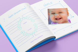 Print on Demand: Baby Memory Book - Editable Graphic KDP Interiors By okdecoconcept 9
