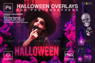 Halloween Overlay & Color Smoke Overlay Graphic Actions & Presets By 2SUNS