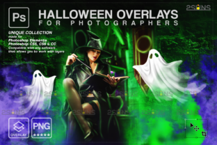 Halloween Overlay & Ghost Overlay Graphic Actions & Presets By 2SUNS