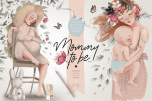 Print on Demand: Mommy to Be Vol.2 Graphic Illustrations By Anna Babich