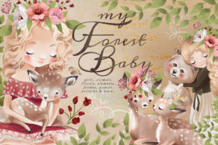 Print on Demand: My Forest Baby Graphic Illustrations By Anna Babich