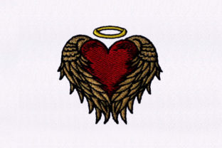 Wrapped Heart Valentine's Day Embroidery Design By StitchersCorp