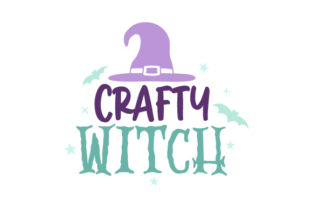 Crafty Witch Halloween Craft Cut File By Creative Fabrica Crafts