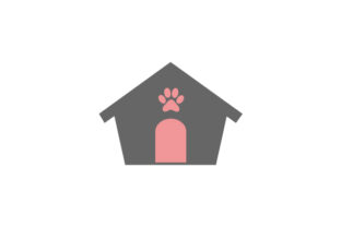 Silhouette Dog House Dogs Craft Cut File By Creative Fabrica Crafts